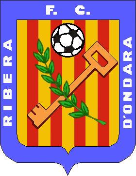 Escudo de F.C. RIBERA D'ONDARA HASTA 2016 (CATALUÑA)