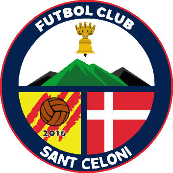 Escudo de F.C. SANT CELONI (CATALUÑA)