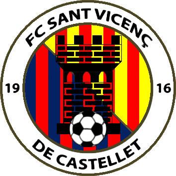 Escudo de F.C. SANT VICENÇ 2018 (CATALUÑA)