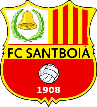 Escudo de F.C. SANTBOIÀ (CATALUÑA)