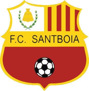 Escudo de F.C. SANTBOIA  (CATALUÑA)