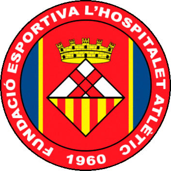 Escudo de F.E. L'HOSPITALET ATLÈTIC (CATALUÑA)