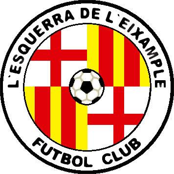 Escudo de L'ESQUERRA DE L'EIXAMPLE F.C. (CATALUÑA)