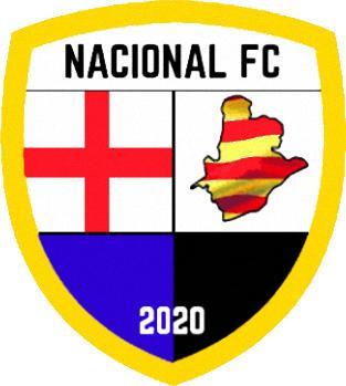Escudo de NACIONAL F.C. (BARCELONA) (CATALUÑA)