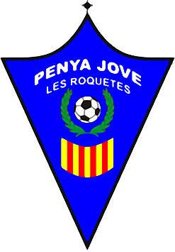 Escudo de PENYA JOVE DE LES ROQUETES (CATALUÑA)