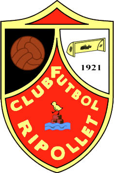 Escudo de RIPOLLET C.F. (CATALUNHA)