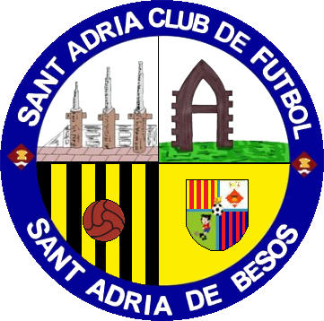 Escudo de SANT ADRIA C.F. (CATALUÑA)