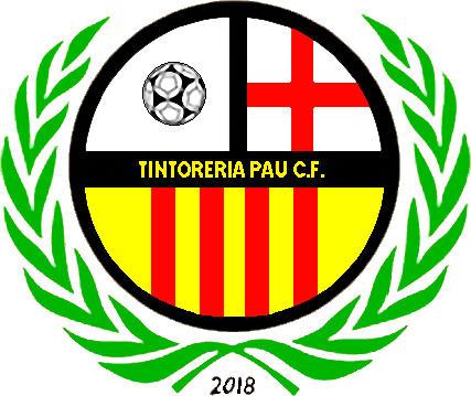 Escudo de TINTORERIA PAU C.F. (CATALUÑA)