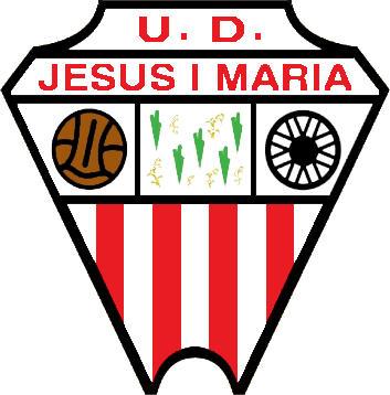 Escudo de U.D. JESÚS Y MARÍA (CATALUNHA)