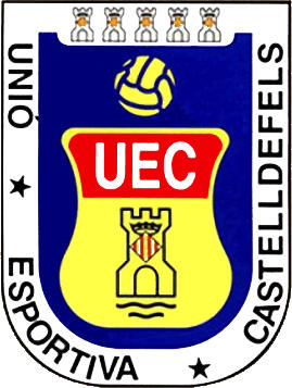 Escudo de U.E. CASTELLDEFELS (CATALUNHA)