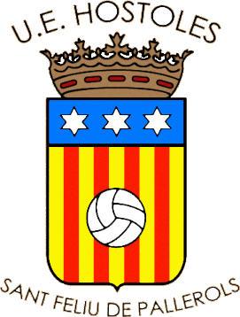 Escudo de U.E. HOSTOLES (CATALUÑA)