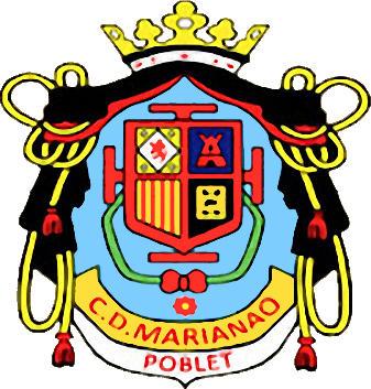 Escudo de U.E. MARIANAO POBLET (CATALUNHA)