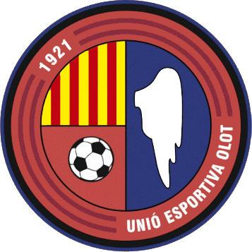 Escudo de U.E. OLOT (CATALUNHA)