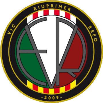 Escudo de VIC RIUPRIMER REFO F.C. (CATALUÑA)