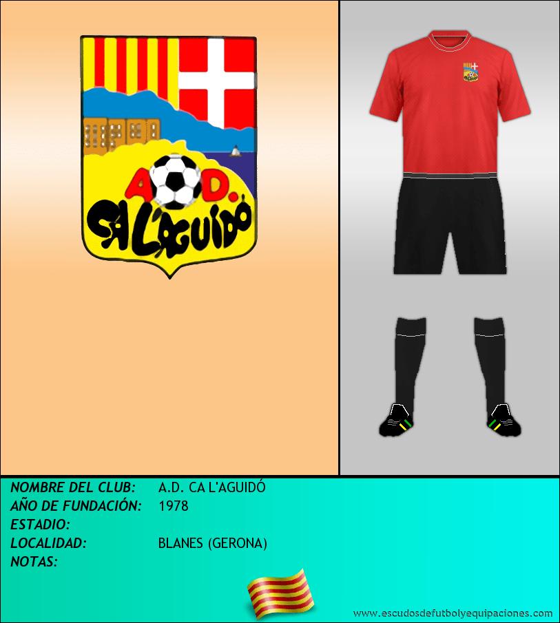 Escudo de A.D. CA L'AGUIDÓ