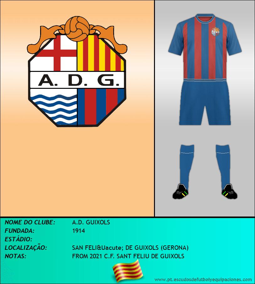 Escudo de A.D. GUIXOLS