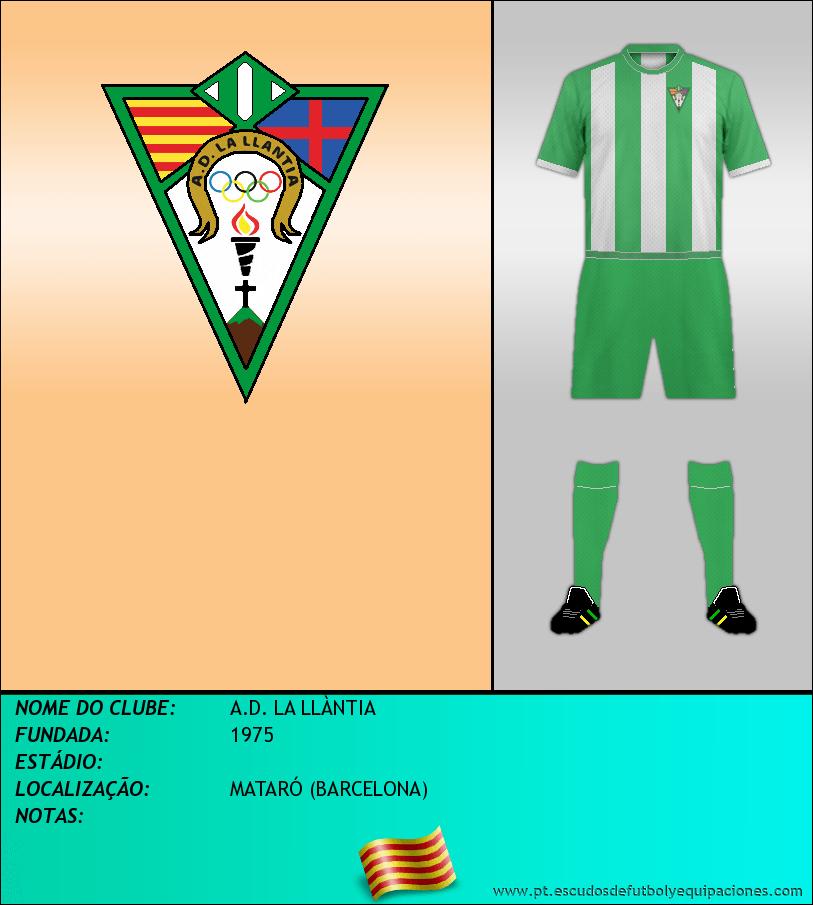 Escudo de A.D. LA LLÀNTIA