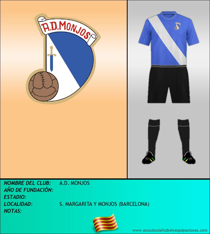 Escudo de A.D. MONJOS