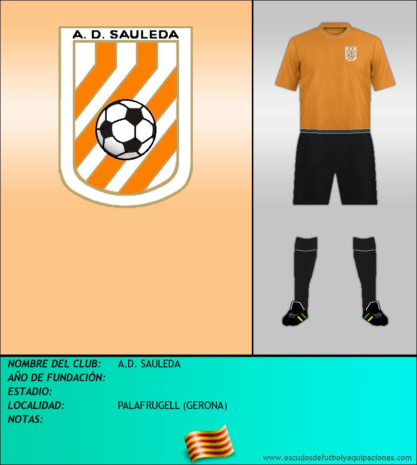 Escudo de A.D. SAULEDA