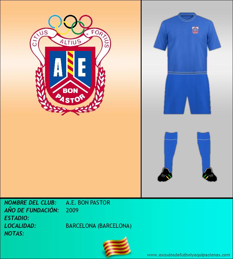 Escudo de A.E. BON PASTOR