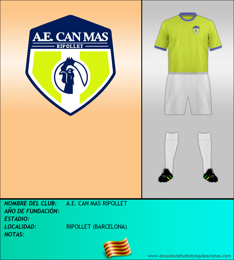 Escudo de A.E. CAN MAS RIPOLLET