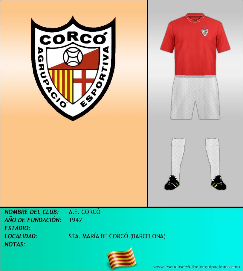 Escudo de A.E. CORCÓ
