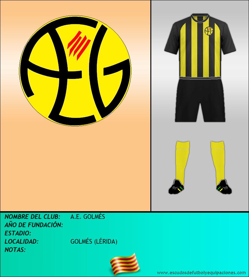 Escudo de A.E. GOLMÈS