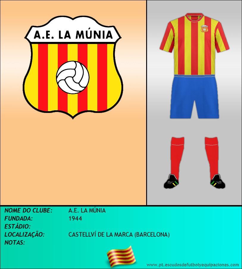 Escudo de A.E. LA MÚNIA