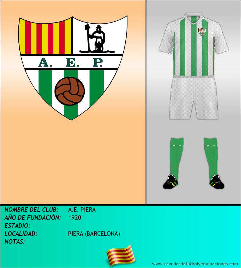 Escudo de A.E. PIERA