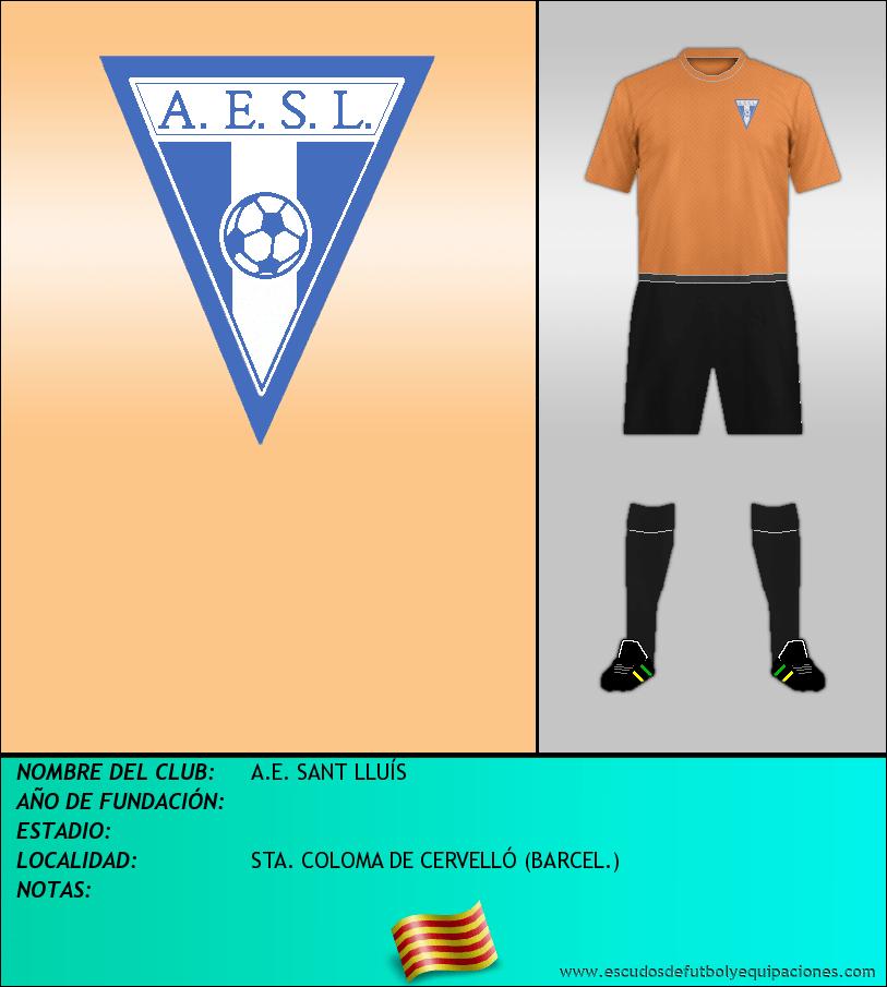 Escudo de A.E. SANT LLUÍS