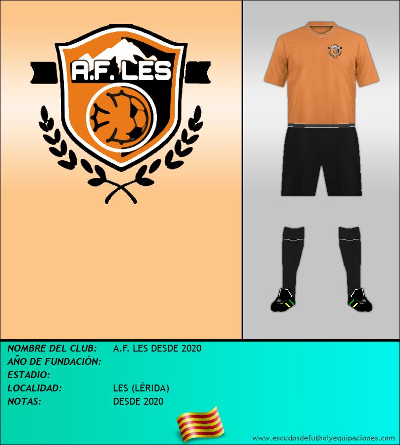 Escudo de A.F. LES DESDE 2020