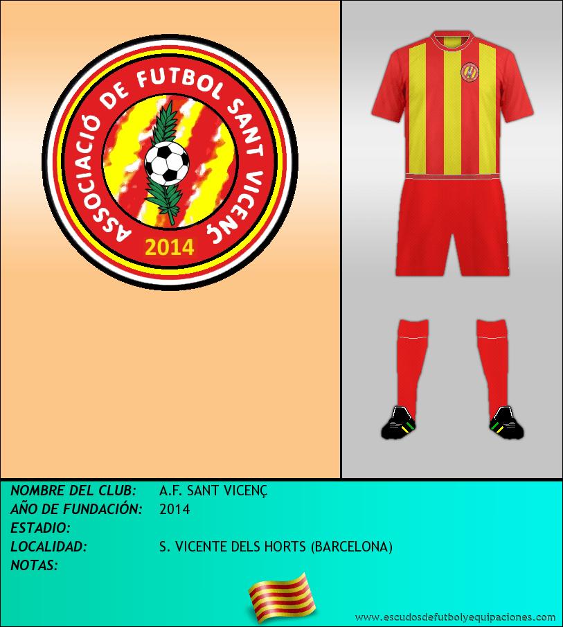 Escudo de A.F. SANT VICENÇ