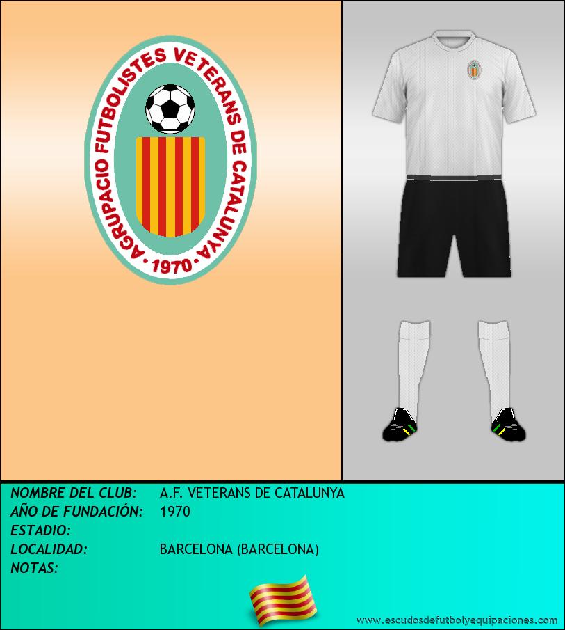 Escudo de A.F. VETERANS DE CATALUNYA