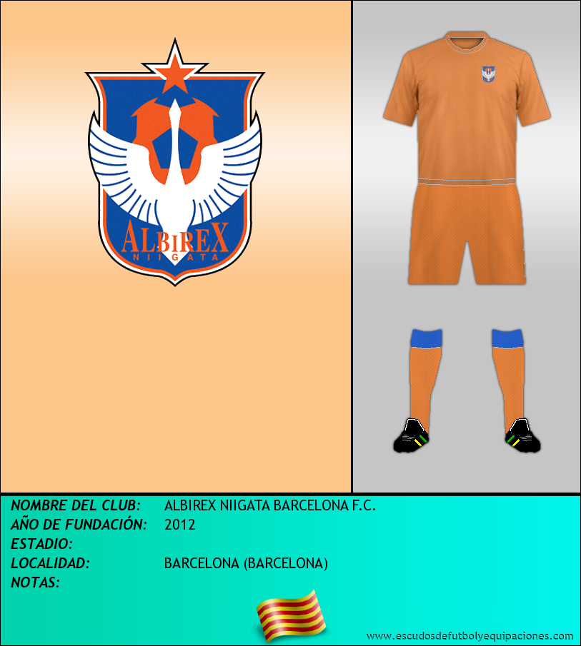 Escudo de ALBIREX NIIGATA BARCELONA F.C.