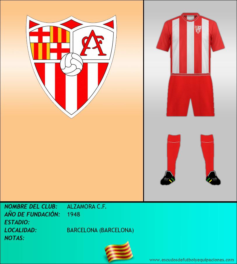Escudo de ALZAMORA C.F.