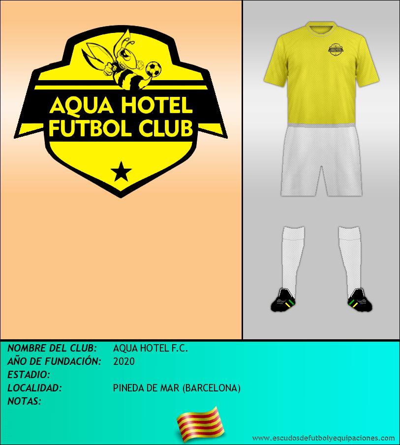 Escudo de AQUA HOTEL F.C.