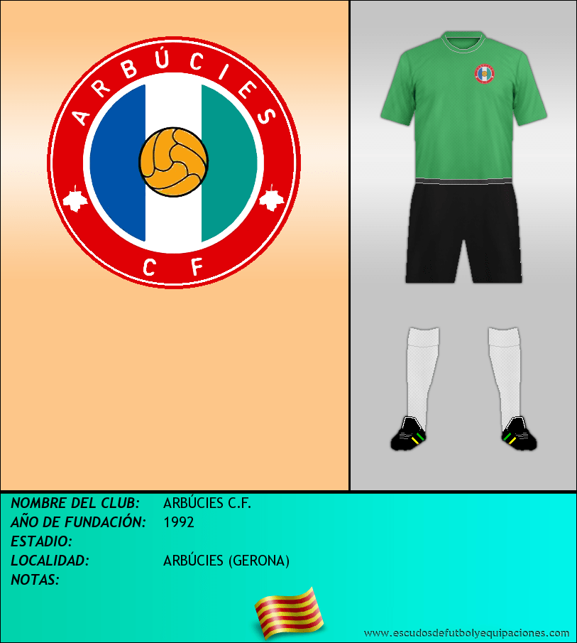 Escudo de ARBÚCIES C.F.