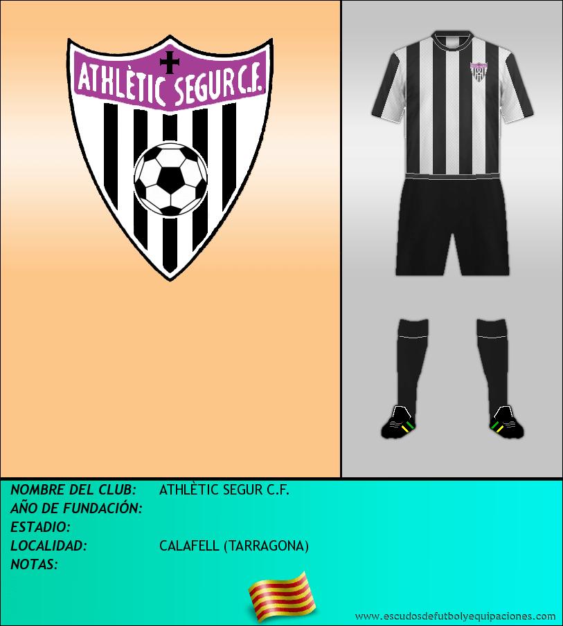 Escudo de ATHLÈTIC SEGUR C.F.