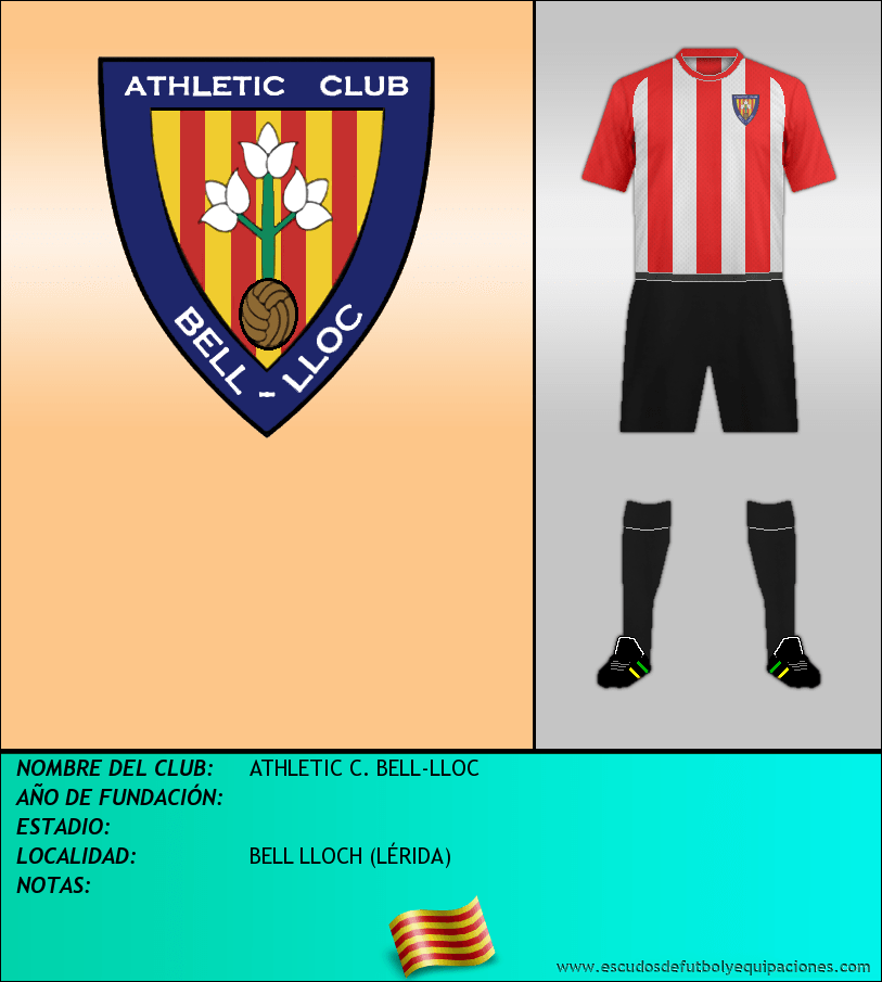 Escudo de ATHLETIC C. BELL-LLOC