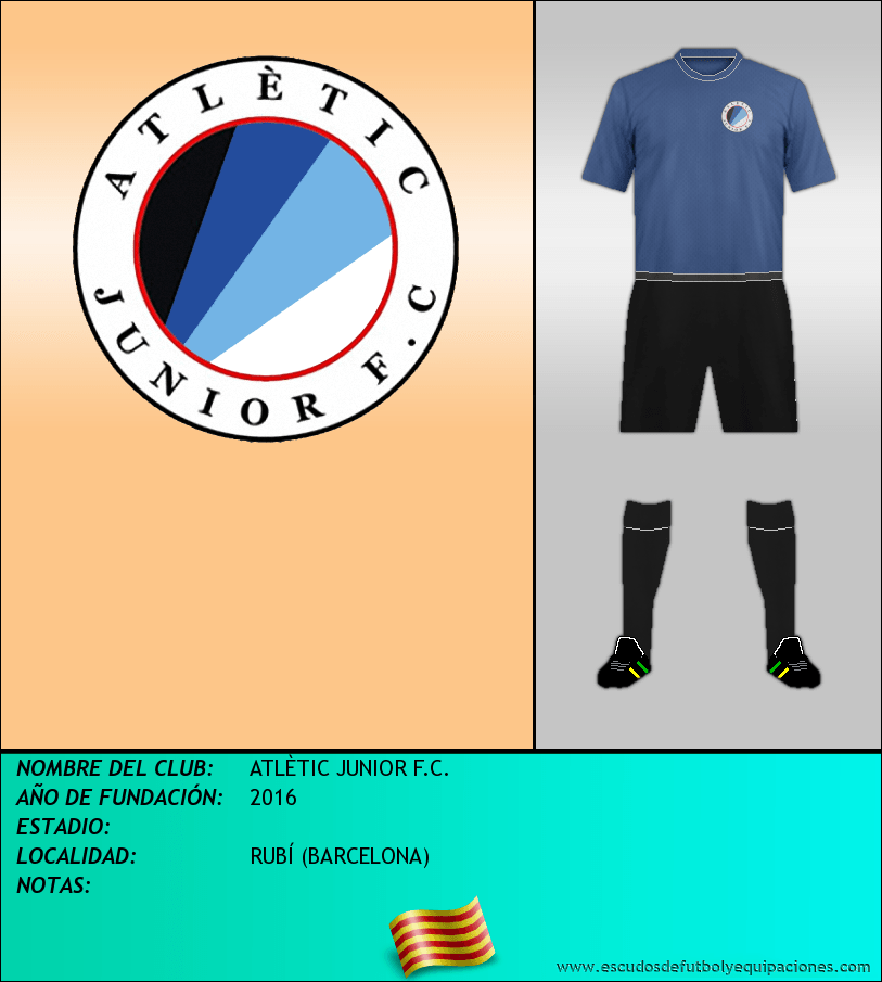 Escudo de ATLÈTIC JUNIOR F.C.