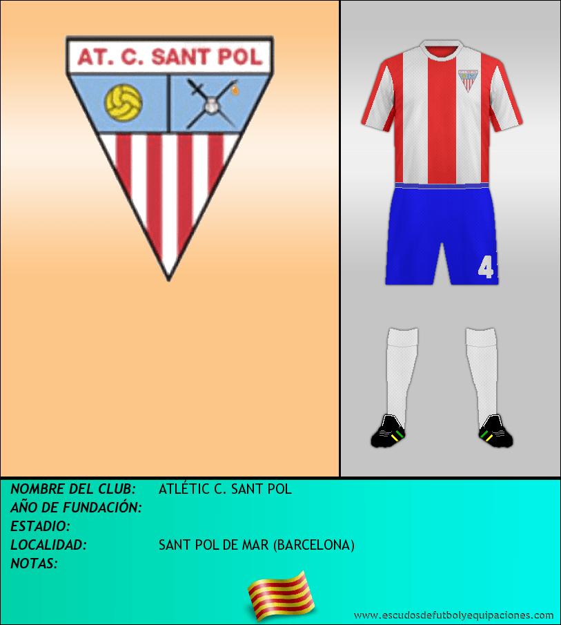 Escudo de ATLÉTIC C. SANT POL