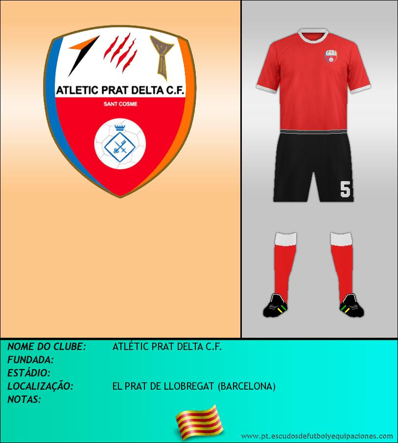 Escudo de ATLÉTIC PRAT DELTA C.F.