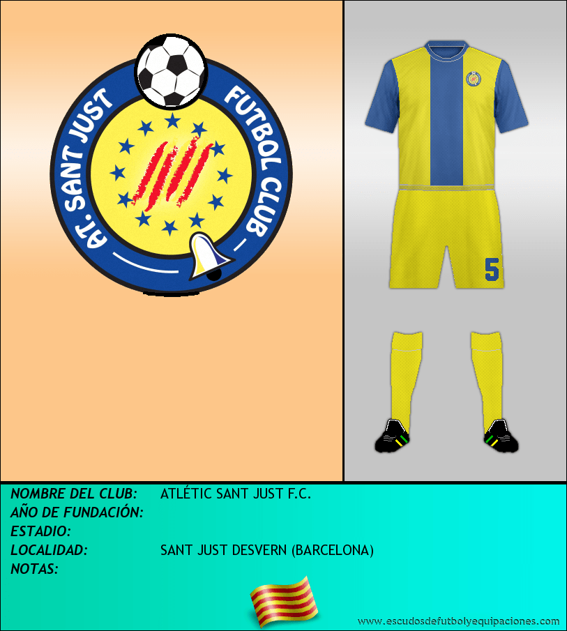 Escudo de ATLÉTIC SANT JUST F.C.