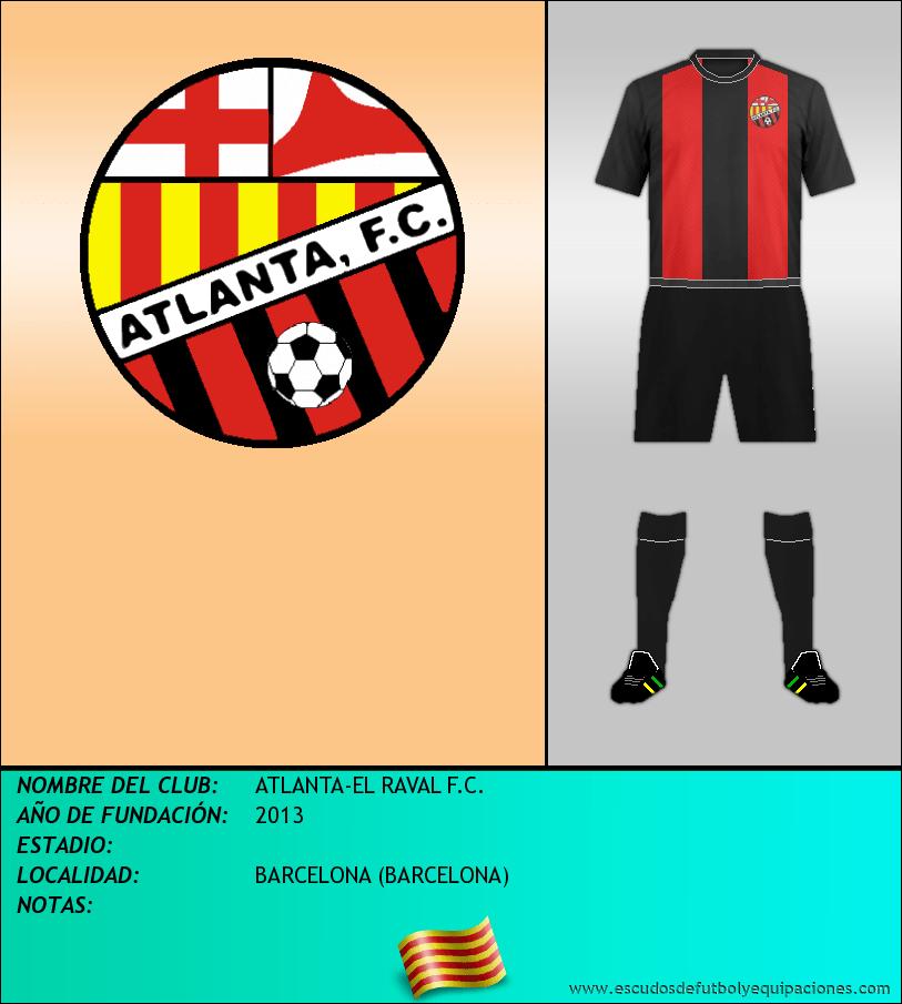 Escudo de ATLANTA-EL RAVAL F.C.