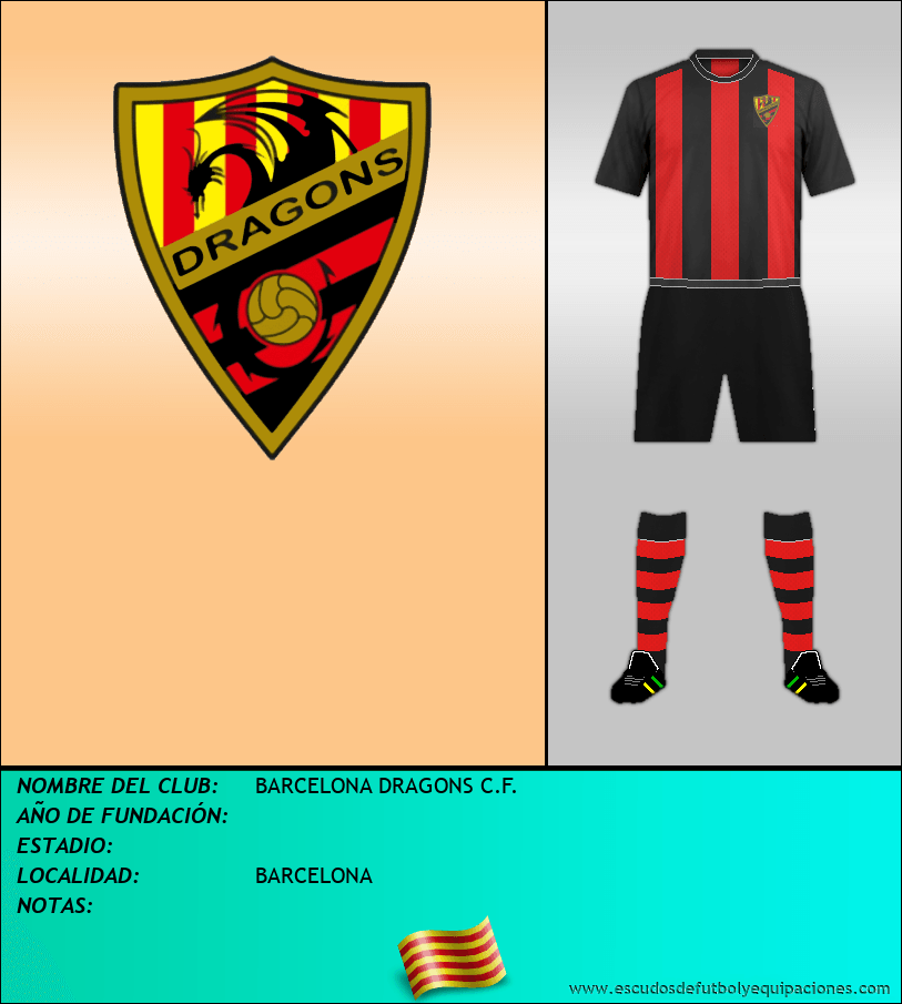 Escudo de BARCELONA DRAGONS C.F.