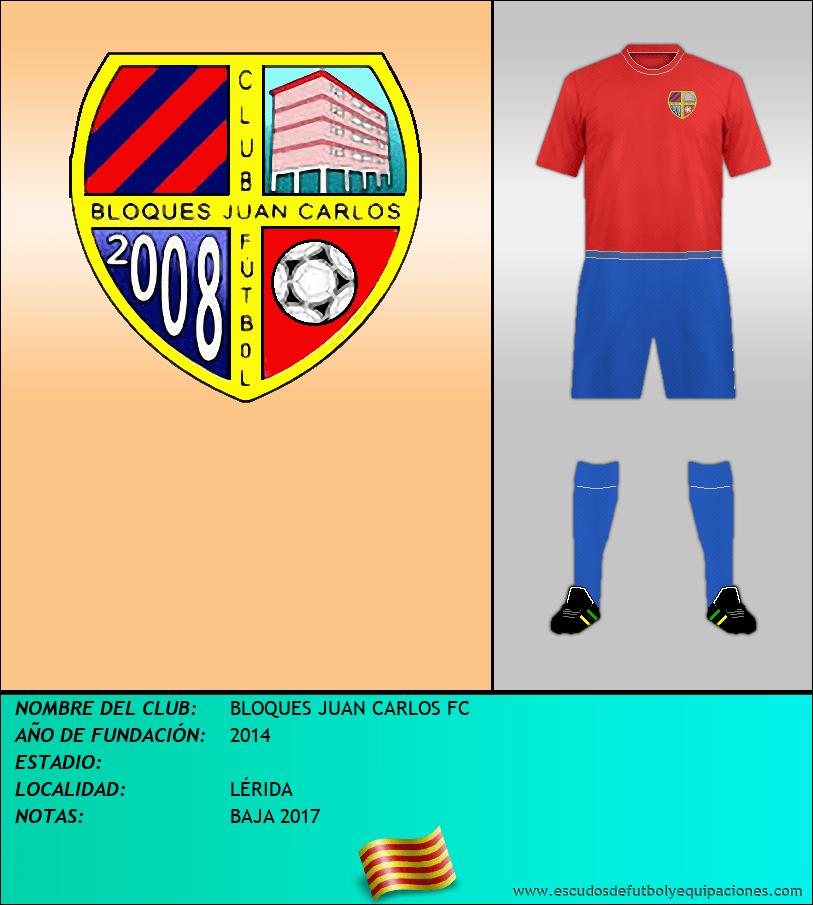 Escudo de BLOQUES JUAN CARLOS FC