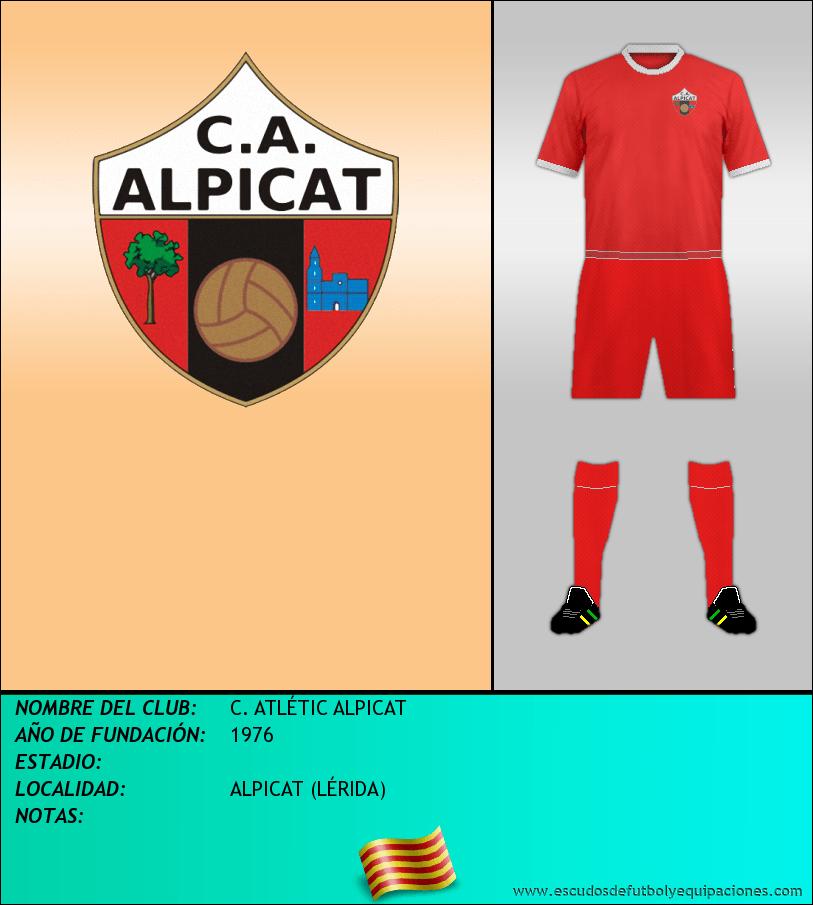 Escudo de C. ATLÉTIC ALPICAT