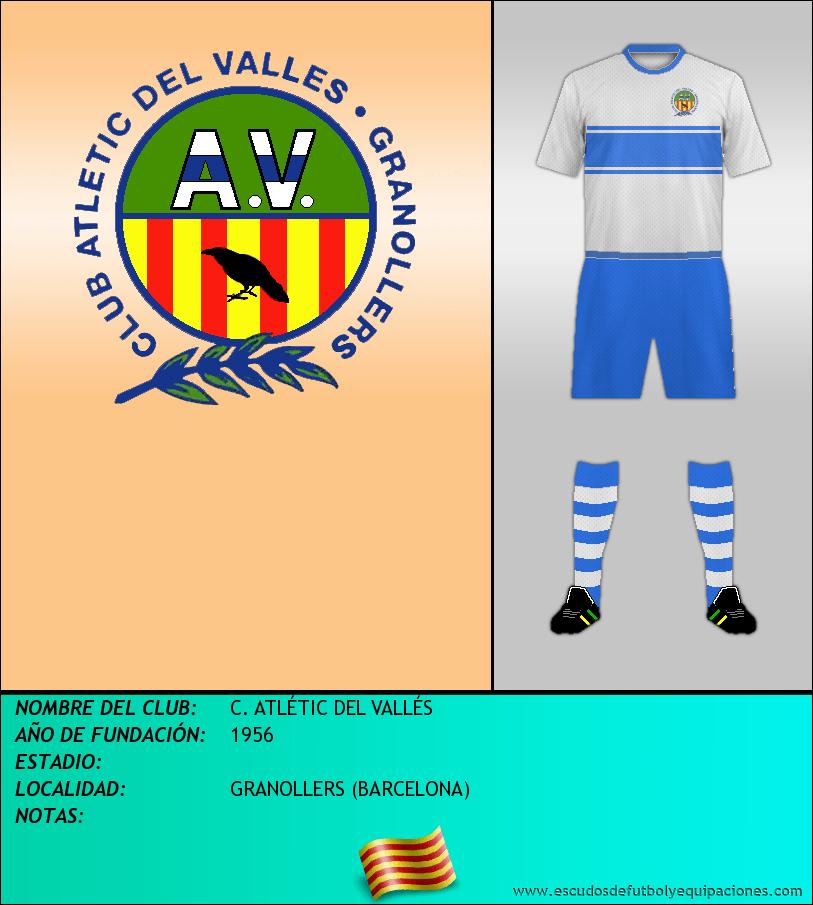 Escudo de C. ATLÉTIC DEL VALLÉS