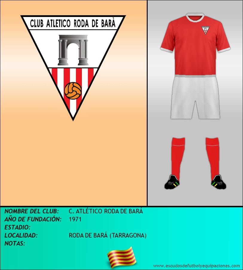 Escudo de C. ATLÉTICO RODA DE BARÁ