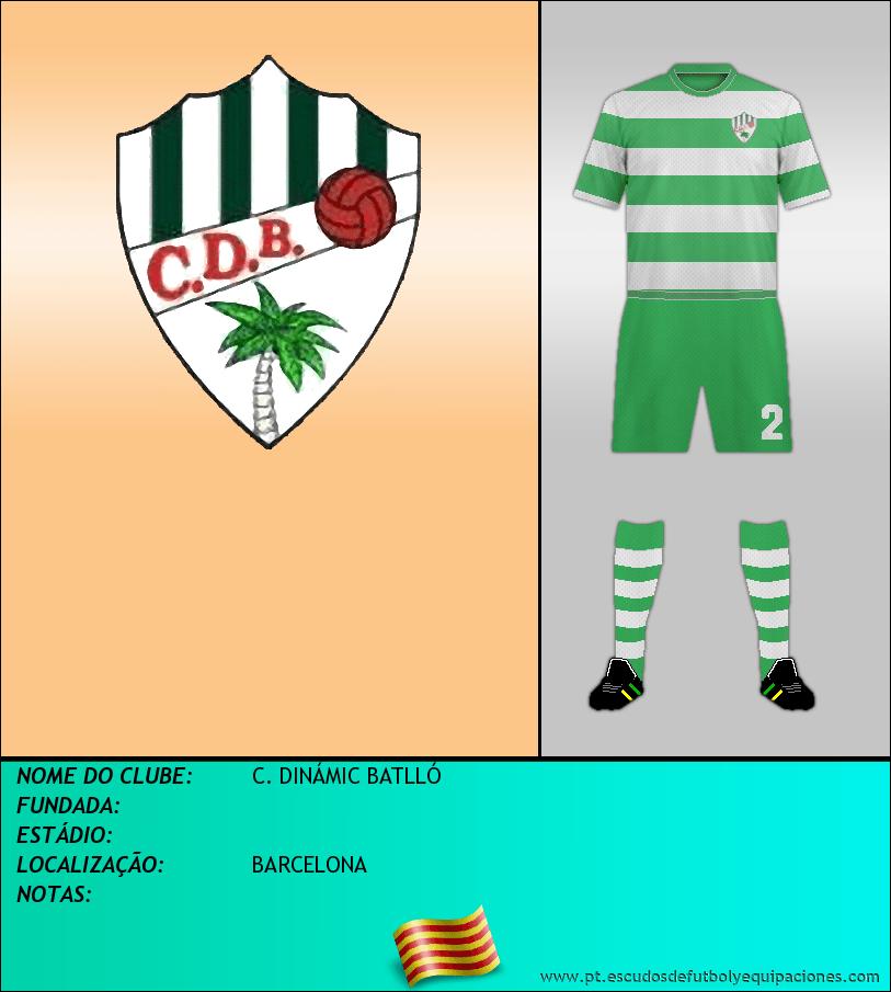 Escudo de C. DINÁMIC BATLLÓ